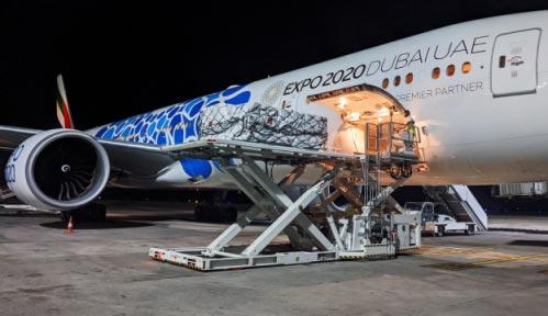 Emirates SkyCargo moving pharmaceuticals from Hyderabad