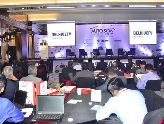 Rupak Kumar, deputy customs commissioner, JNCH, JNPT, delivering the keynote address