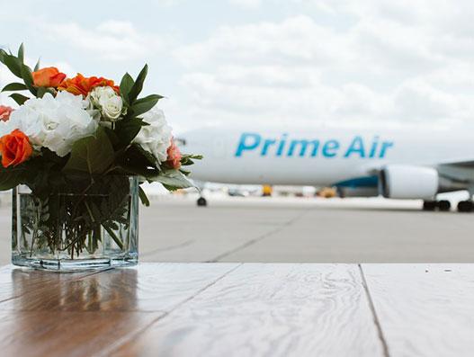 Amazon Air groundbreaking event