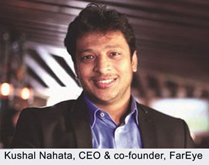 Kushal Nahata, CEO & co-founder of logistics-tech startup FarEye