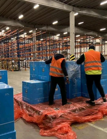Liege Airport handles more than 600 freighters in a week