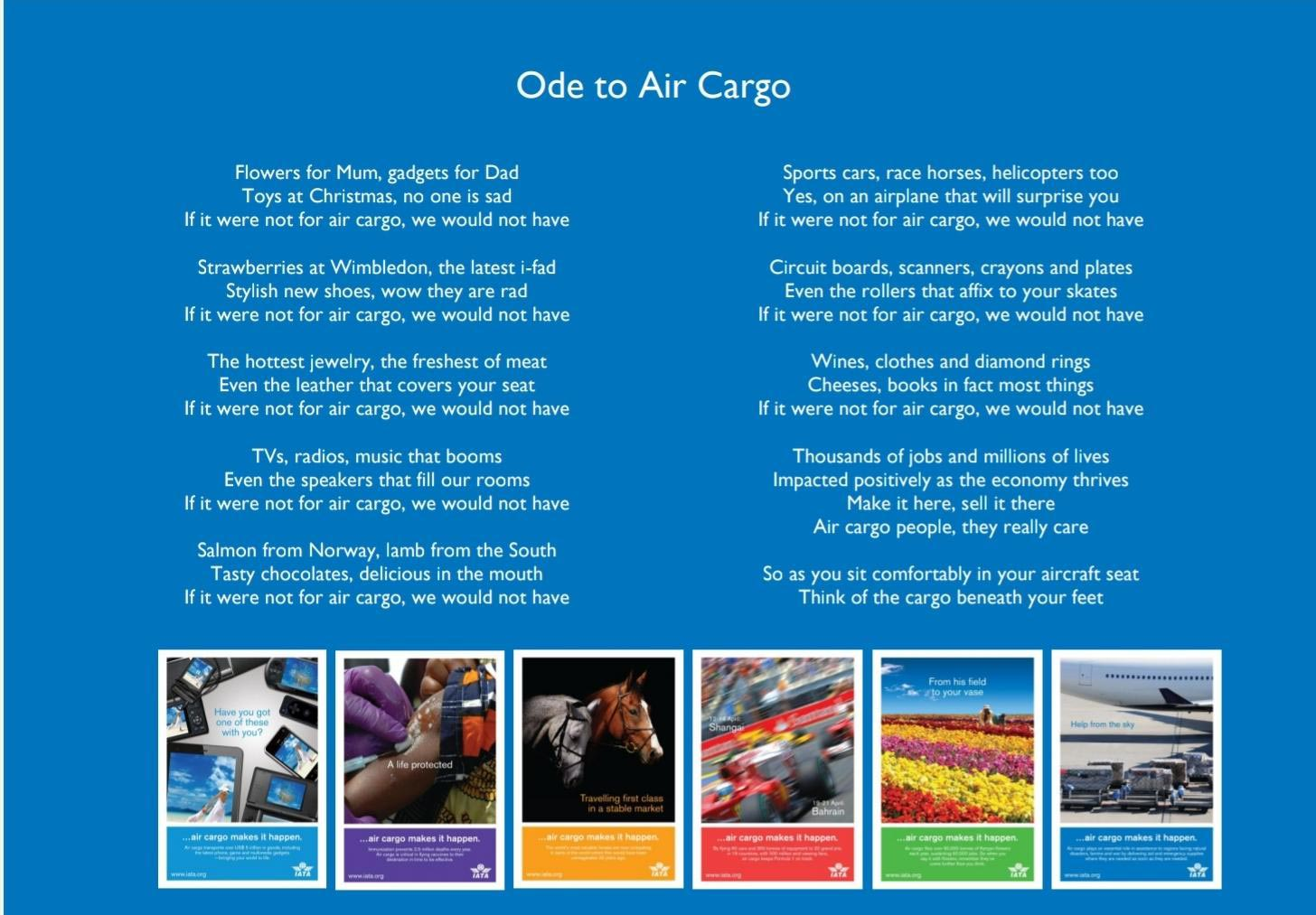 Ode to Air Cargo