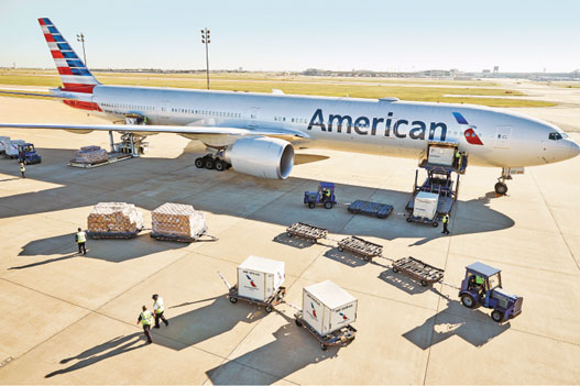 PHOTO: American Airlines Cargo