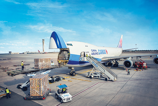 dnata Cargo operations at DWC 1