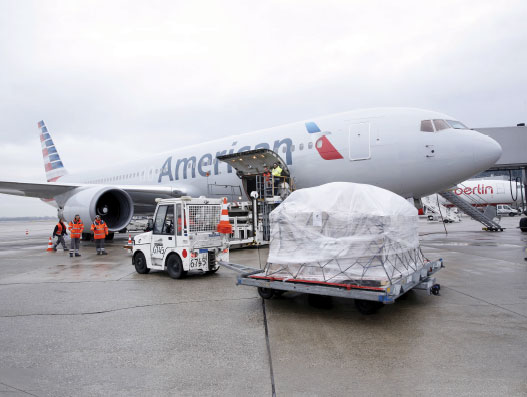 Transatlantic air cargo a win-win situation