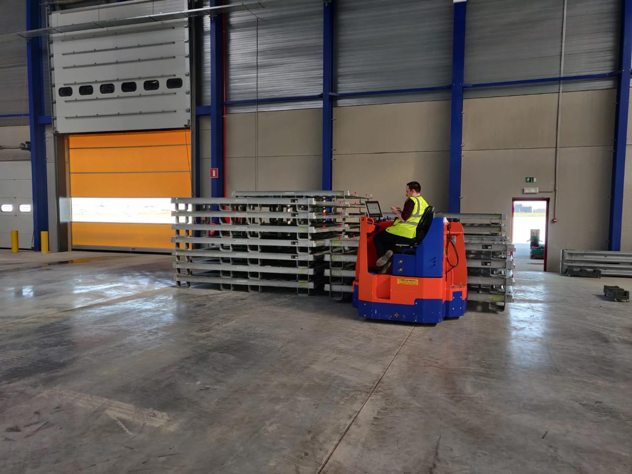 Cargo infrastructure at Liege Airport