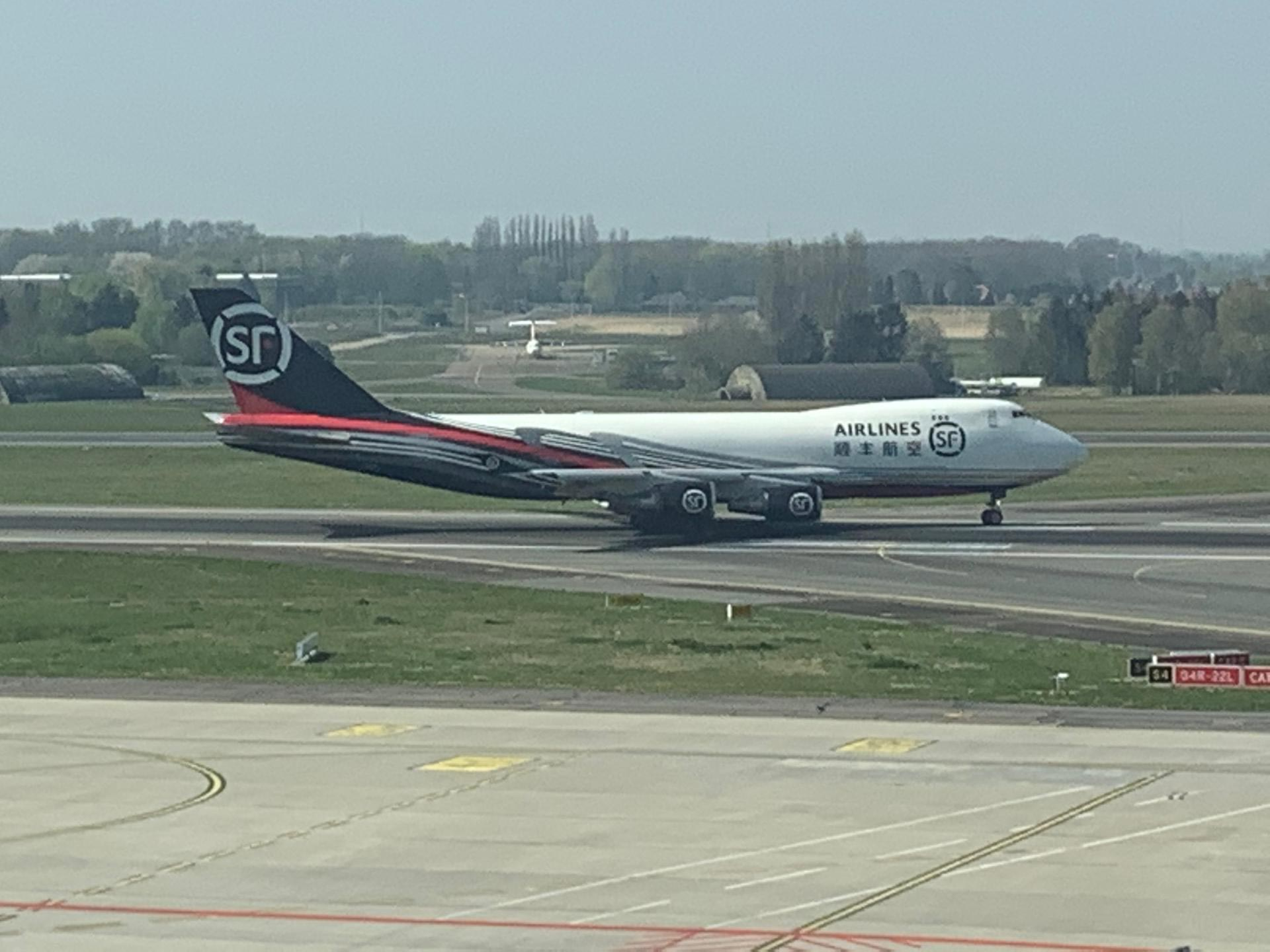 Liege Airport welcomes SF Airlines which made its first landing this week