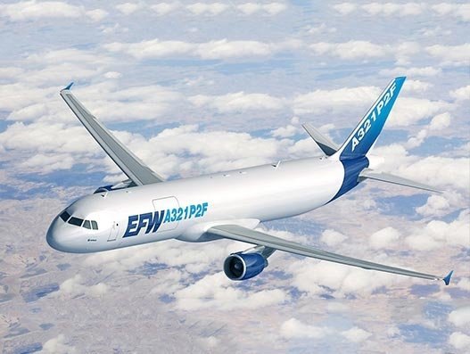 EFW gets EASA's Supplement Type Certificate for A321P2F