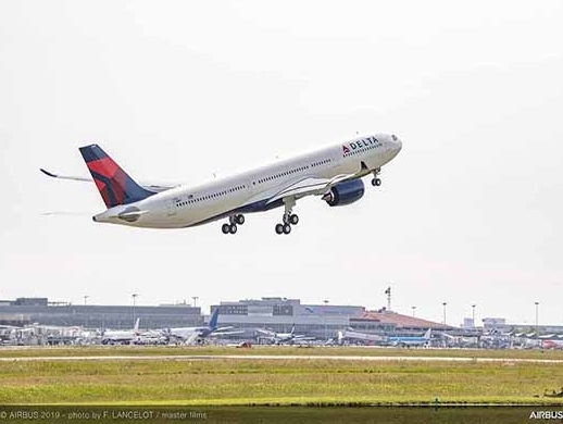 Airbus delivers first A330neo to Delta Air Lines
