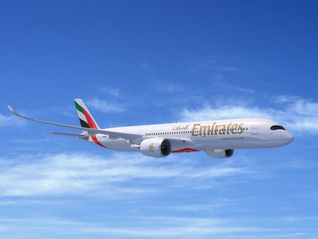 Emirates Airline orders 50 A350XWB at Dubai Airshow 2019