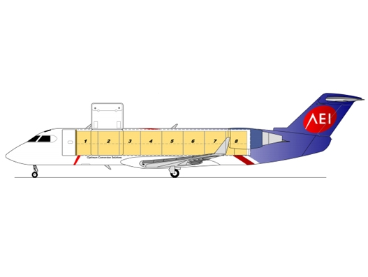 AEI gets Transport Canada approval for CRJ200 SF freighter conversion