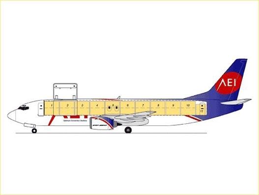 AEI receives order from Royal Aero for a B737-400SF