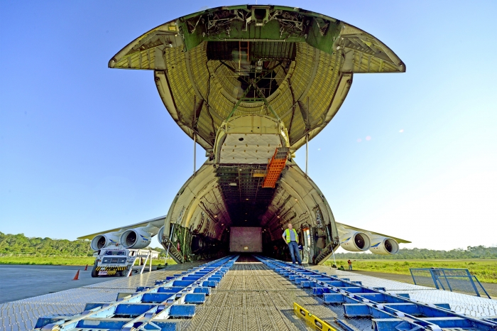 Antonov Airlines' AN-225 in 160 tonne cargo transport from Chile to Bolivia