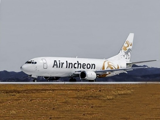 Air Incheon receives first of two leased B767-300 converted freighters