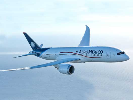 Aeromexico takes delivery of first Boeing 737 MAX airplane