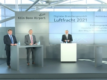 Innovations in aviation industry support climate protection: BARIG at Air Cargo Industry Meeting 2021