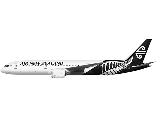 Air New Zealand takes delivery of one B787-9 aircraft on long term lease from ALC