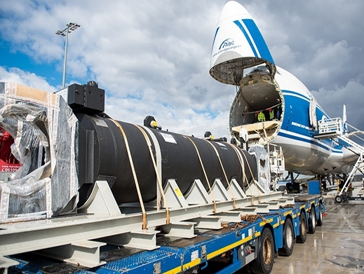 AirBridgeCargo in delivery of 40-tonne shipment