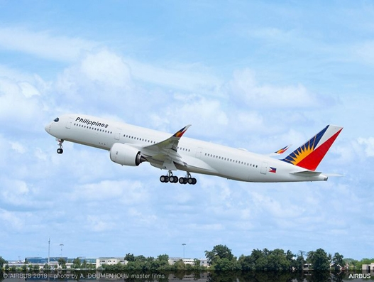 Philippine Airlines receives first A350 XWB, to operate on long-haul routes