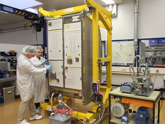 Airbus transports new life support system for International Space Station