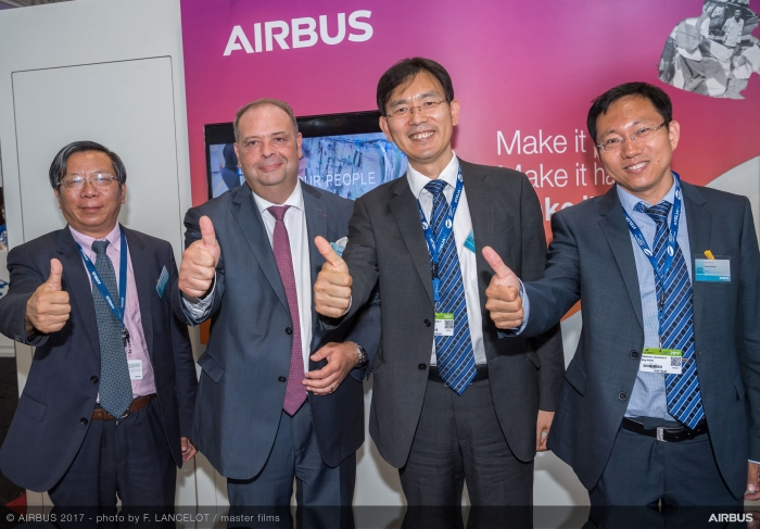 Airbus China appoints Eric Chen as Chairman, George Xu as CEO