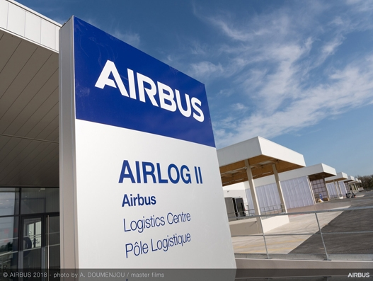 New Airbus' logistics platform Airlog II opens