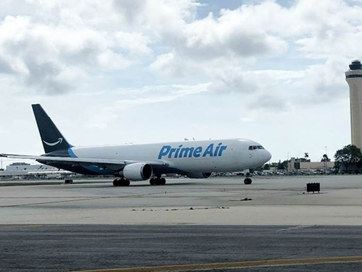 Amazon Air launches double-daily freighter service to Miami Airport