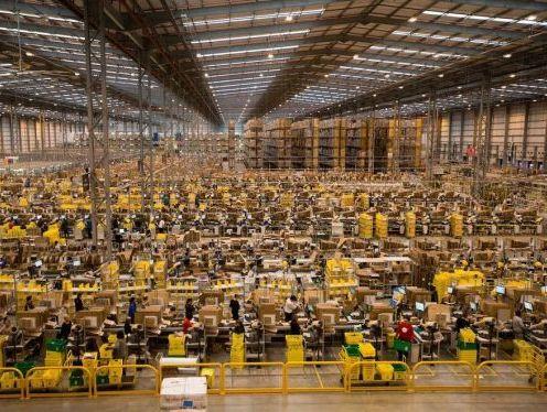 Amazon is increasing its warehousing footing in UK