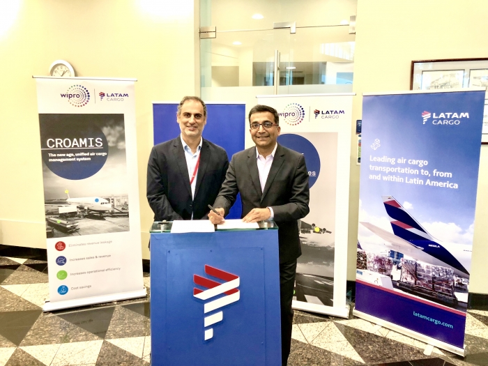 LATAM Cargo gets Wipro's CROAMIS for digital transformation