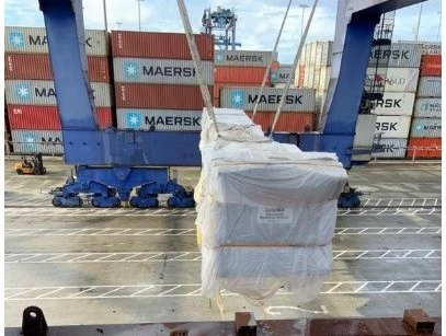 Anker Logistica delivered airport boarding tunnels in Colombia