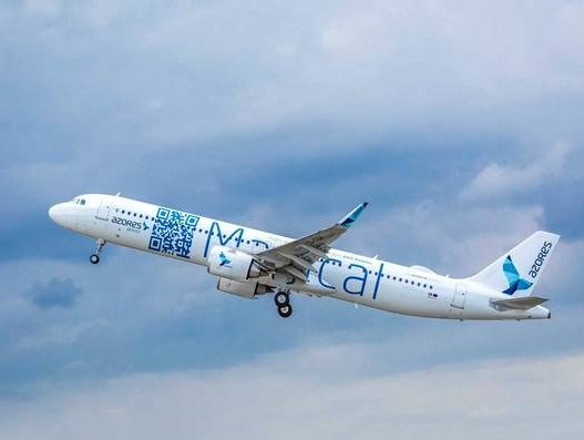 Azores Airlines receives its first A321LR
