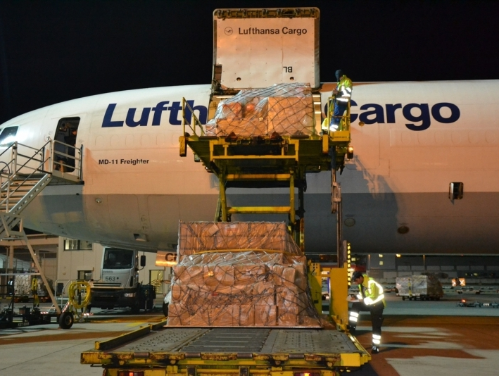 Lufthansa Cargo increases freighter services to Mumbai
