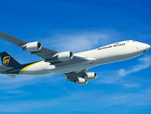 UPS to buy 14 B747-8 cargo jets and 4 B767 to enhance its air cargo capacity