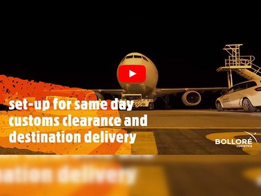 Bolloré Logistics Switzerland transports 200,000 doses of life saving vaccines to Iraq