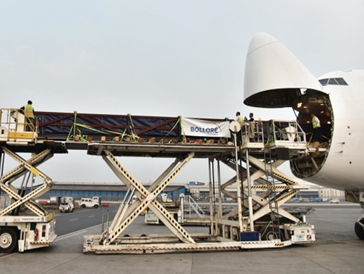 Bollore Logistics carries large scale shipment from South Korea to India