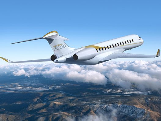 Bombardier debuts Global 7000 business jet in Singapore