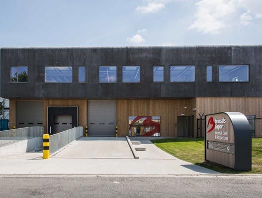 Inside Brussels Airport's new Animal Care & Inspection Center