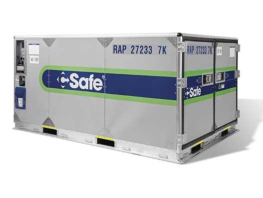 United the first US carrier to approve CSafe's RAP temp controlled container