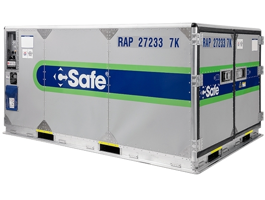 AirBridgeCargo Airlines signs up for CSafe's active pharma containers