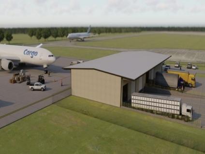 Chennault International Airport breaks ground for new $4 million air cargo facility