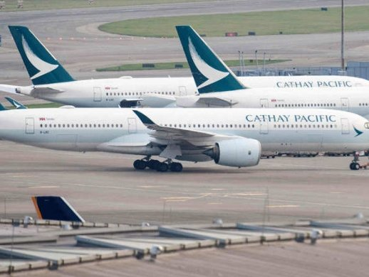 Coronavirus: Cathay Pacific's traffic figures have taken a hit