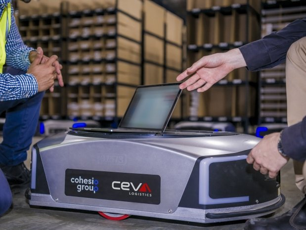 CEVA's speed of operations jumps 400% with use of robots