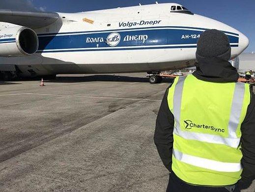 CharterSync completes its first An-124 charter flight