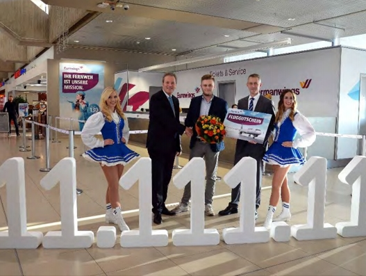 Cologne Bonn records new highs for both passenger traffic and cargo in 2016