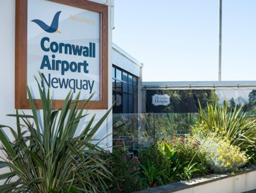 Cornwall Airport Newquay saw 23% increase in passenger traffic in 2017