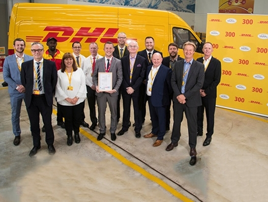 DHL Express Birmingham centre receives TAPA certification