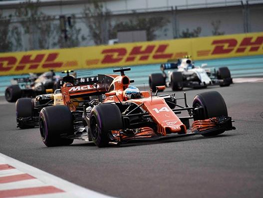 DHL is the official logistics partner of Formula 1 2018 season