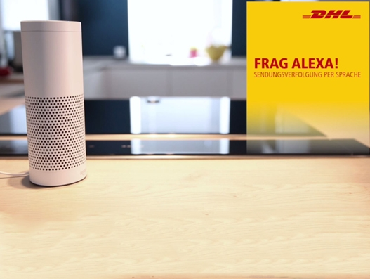 DHL customers can now ask Amazon's Alexa for their shipment updates