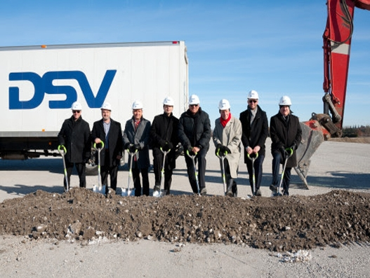 DSV Canada breaks ground on new Milton facility, company's largest facility ever
