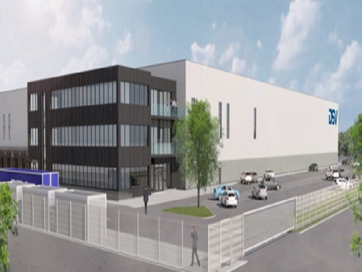 DSV's new Belgium facility for pharma logistics to open in July